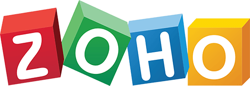 Zoho Logo | The Best Small Business CRM | The Almost Agency